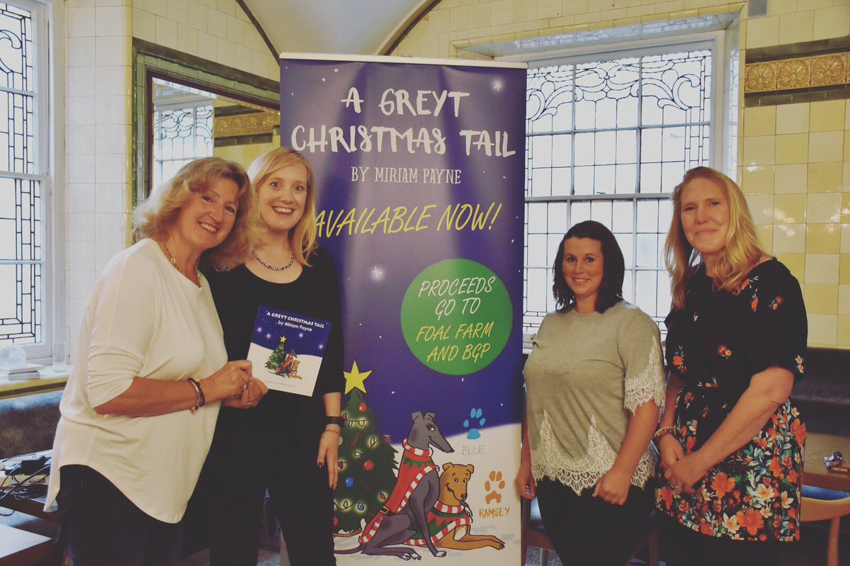 congratulations to miriam payne who launched her first book a greyt christmas tail on tuesday 25th july 2017 at the institute of directors london at the - A Christmas Tail