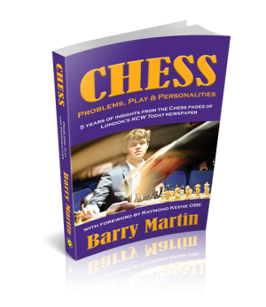 New Chess book Launching November 9th at the World Chess Championships